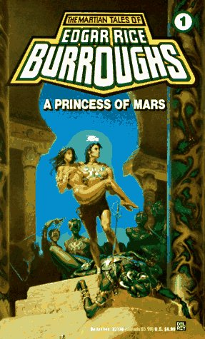 Princess of Mars   1912 edition cover