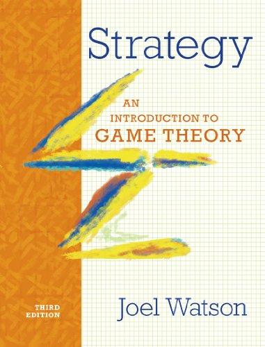 Strategy An Introduction to Game Theory 3rd 2013 edition cover