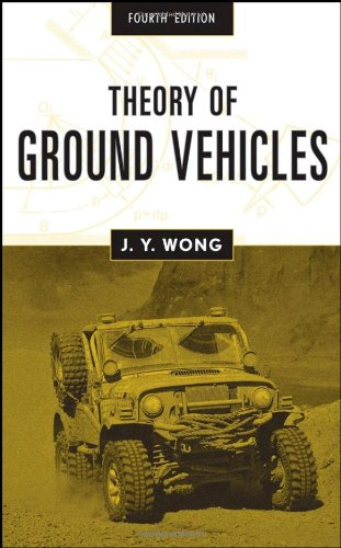 Theory of Ground Vehicles  4th 2008 edition cover