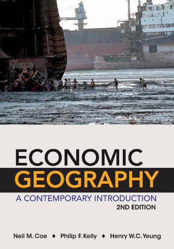 Economic Geography A Contemporary Introduction 2nd 2013 edition cover