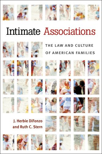 Intimate Associations The Law and Culture of American Families  2013 9780472035380 Front Cover