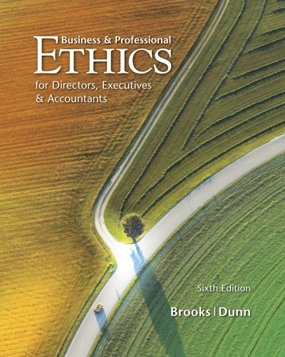 Business and Professional Ethics  6th 2012 9780538478380 Front Cover