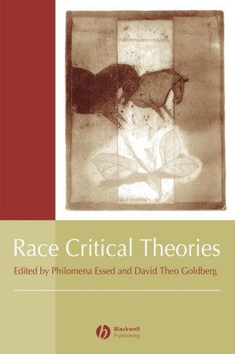 Race Critical Theories   2001 9780631214380 Front Cover
