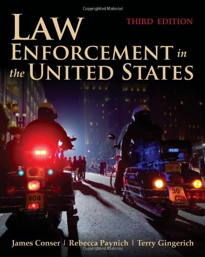 Law Enforcement in the United States  3rd 2013 edition cover