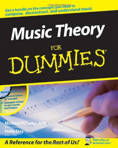 Music Theory for Dummies   2007 edition cover