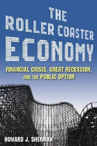 Roller Coaster Economy Financial Crisis, Great Recession, and the Public Option  2010 edition cover