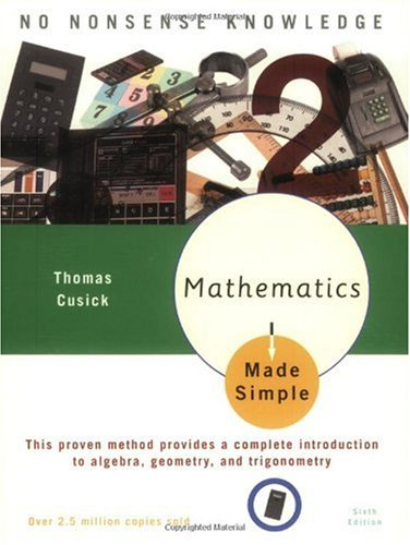 Mathematics Made Simple  6th 2003 edition cover