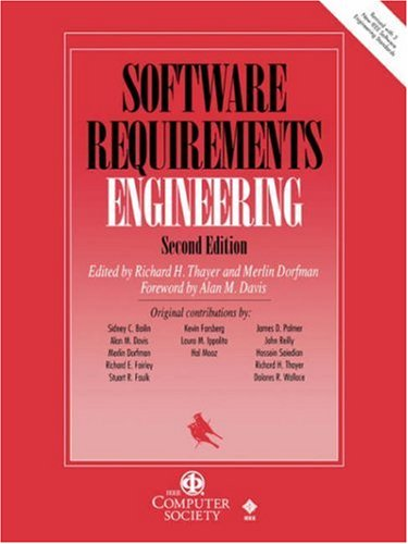 Software Requirements Engineering  2nd 2000 (Revised) edition cover