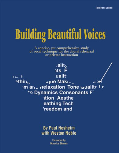 Building Beautiful Voices - Director's Edition 1st 1995 edition cover