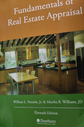 Fundamentals of Real Estate Appraisal:   2013 edition cover
