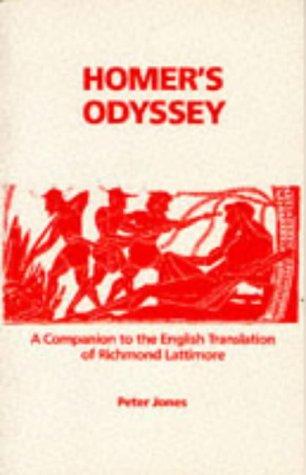 Companion to the English Translation of Richard Lattimore   1988 edition cover