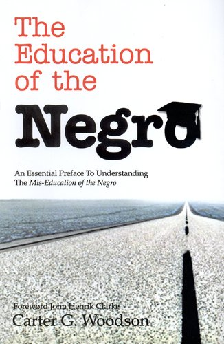 Education of the Negro Prior to 1860 Revised  edition cover