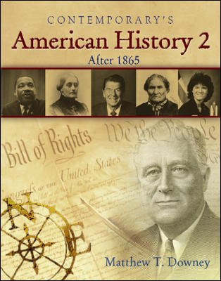 American History 2 (after 1865) - Softcover Student Text Only   2006 (Student Manual, Study Guide, etc.) edition cover