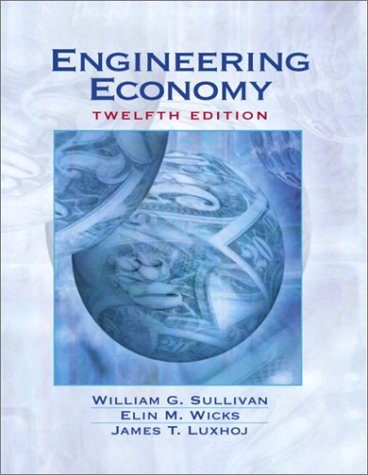Engineering Economy  12th 2003 edition cover