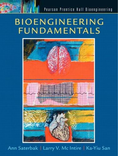 Bioengineering Fundamentals   2007 edition cover