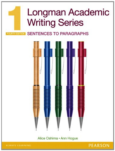 Sentences to Paragraphs  2nd 2013 edition cover