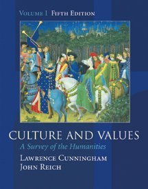 Culture and Values Vol. I : A Survey of the Humanities 5th 2002 edition cover
