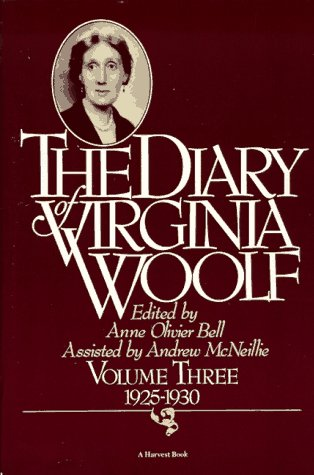 Diary of Virginia Woolf, 1925-1930   1981 edition cover