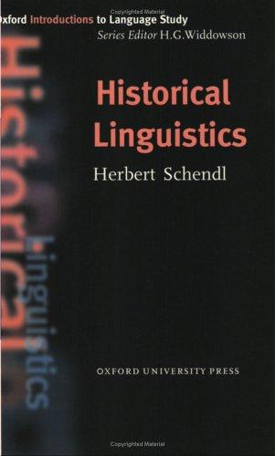 Historical Linguistics   2001 edition cover
