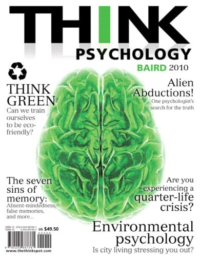 THINK Psychology   2010 9780205687381 Front Cover