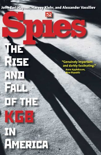 Spies The Rise and Fall of the KGB in America  2010 edition cover