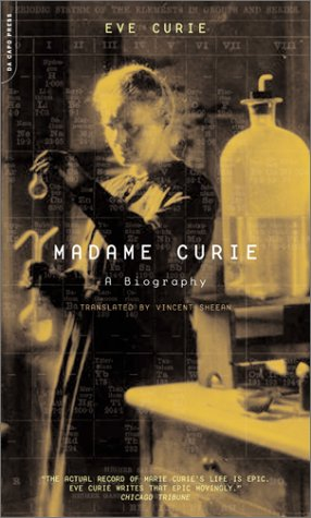 Madame Curie A Biography  2001 9780306810381 Front Cover