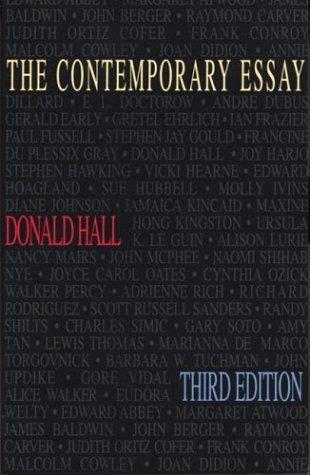 Contemporary Essay  3rd 1995 edition cover