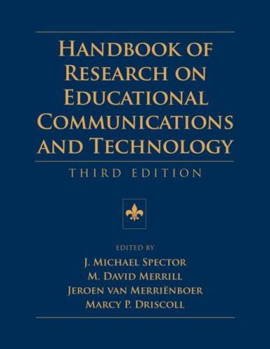 Handbook of Research on Educational Communications and Technology  3rd 2008 (Revised) edition cover