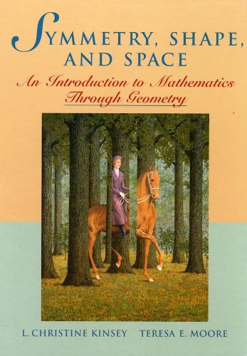 Symmetry, Shape, and Space An Introduction to Mathematics Through Geometry  2002 edition cover