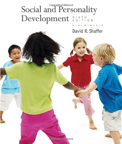 Social and Personality Development  6th 2009 edition cover