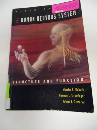 Human Nervous System : Introduction and Review 5th 1996 9780683065381 Front Cover