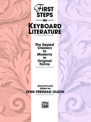 First Steps in Keyboard Literature   1987 edition cover