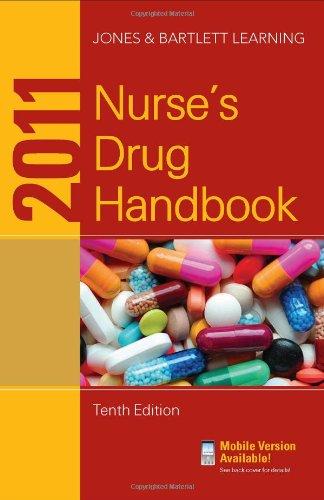 2011 Nurse's Drug Handbook  10th 2011 (Revised) 9780763792381 Front Cover