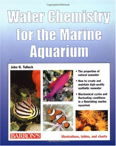 Water Chemistry for the Marine Aquarium   2002 edition cover