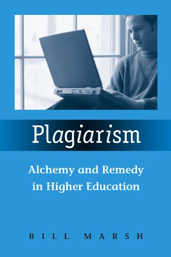 Plagiarism Alchemy and Remedy in Higher Education  2007 edition cover