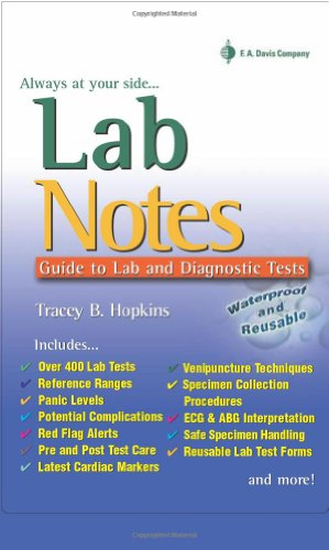 LabNotes Guide to Lab and Diagnostic Tests 2nd 2009 (Revised) edition cover