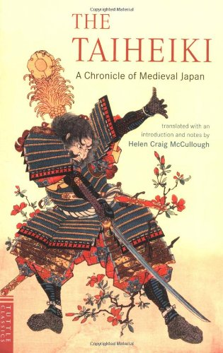 Taiheiki A Chronicle of Medieval Japan  2004 edition cover