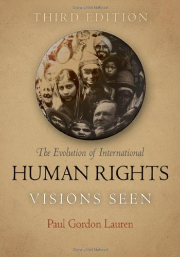 Evolution of International Human Rights Visions Seen 3rd 2011 edition cover