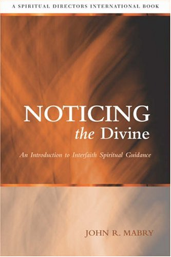 Noticing the Divine An Introduction to Interfaith Spiritual Guidance  2006 edition cover