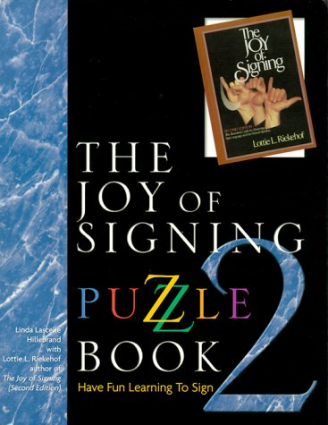 Joy of Signing Puzzle   1999 edition cover