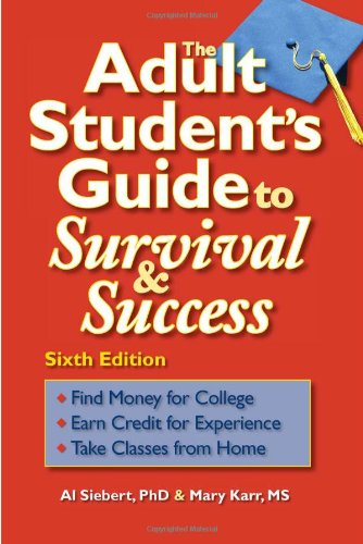 Adult Student's Guide to Survival and Success  6th 2008 edition cover