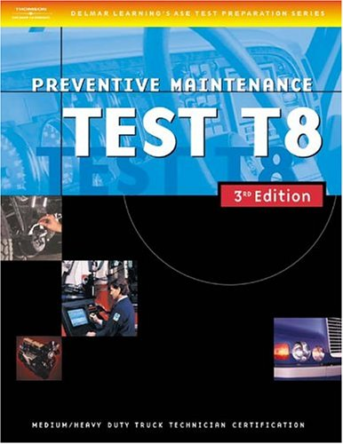 Preventive Maintenance Test T8  3rd 2004 edition cover