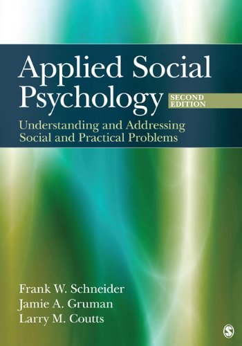 Applied Social Psychology Understanding and Addressing Social and Practical Problems 2nd 2012 edition cover