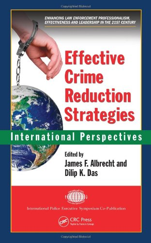 Effective Crime Reduction Strategies International Perspectives  2011 edition cover