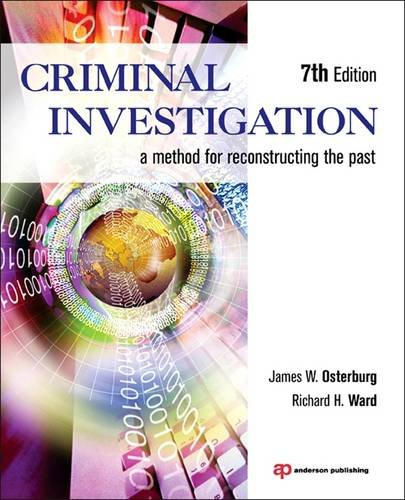 Criminal Investigation A Method for Reconstructing the Past 7th 2013 (Revised) edition cover