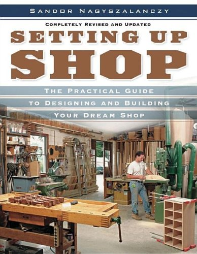 Setting up Shop The Practical Guide to Designing and Building Your  2006 (Revised) 9781561588381 Front Cover