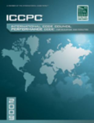 2009 ICC Performance Code for Buildings and Facilities   2009 9781580017381 Front Cover