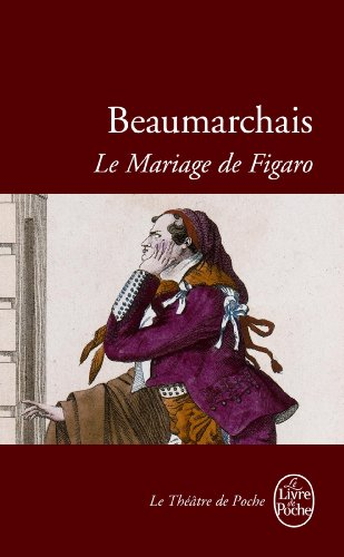 Mariage de Figaro 1st edition cover
