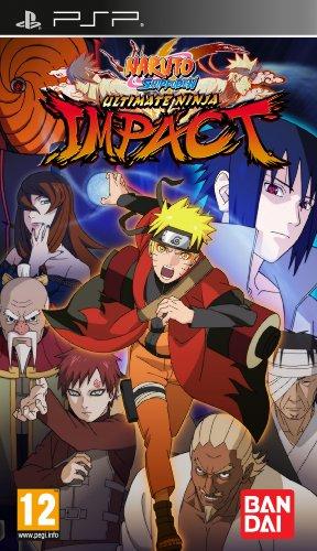 Naruto Shippuden: Ultimate Ninja Impact (PSP) Sony PSP artwork