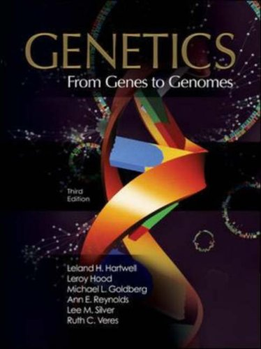 Genetics From Genes to Genomes 3rd 2008 (Revised) 9780073227382 Front Cover
